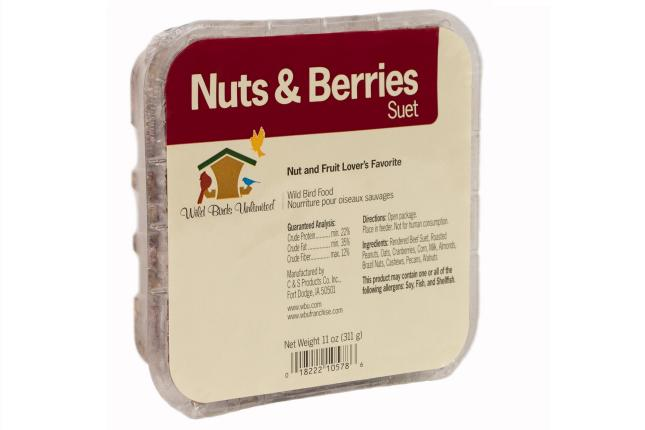 WBU Nuts & Berries Suet