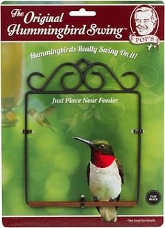 Hummingbird Swing- Black