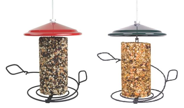WBU Seed Cylinder Bird Feeders