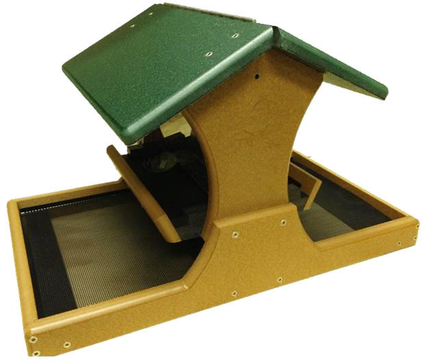 WBU EcoTough® Classic Hopper Feeder with Seed Catcher Tray