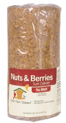 WBU Nuts & Berries No-Melt Suet Dough Cylinder