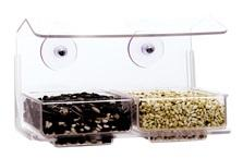 WBU Double Tray Window Bird Feeder