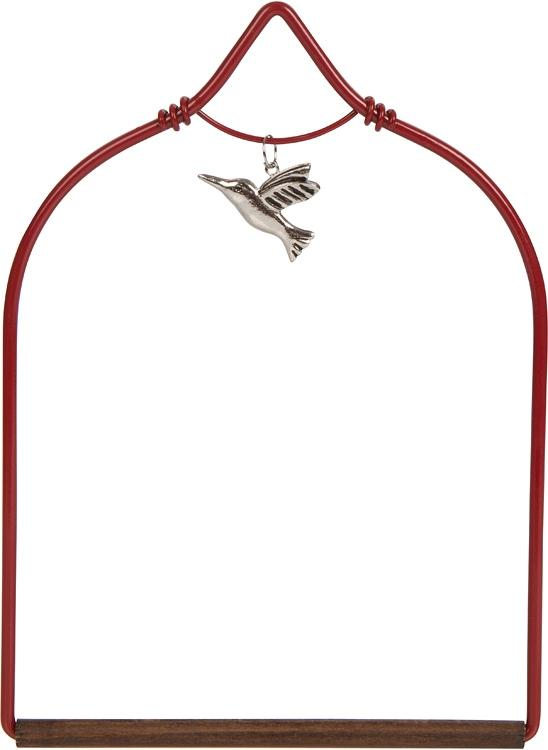 Charmed Hummingbird Swing