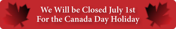 Closed Canada Day