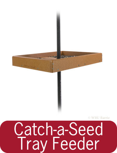 Feeders - EcoTough Catch-A-Seed Tray Feeder