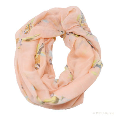 Nature Themed Infinity Scarves