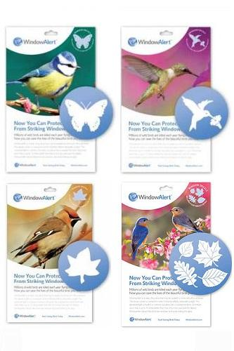 Wild Birds Unlimited Problem Solving Birds Flying Into Windows - Window alert decals for birds